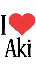 Aki i-love logo