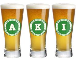 Aki lager logo
