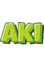 Aki summer logo