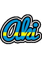 Aki sweden logo