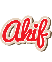 Akif chocolate logo