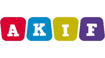 Akif daycare logo