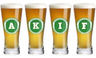 Akif lager logo