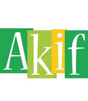 Akif lemonade logo