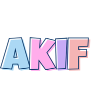 Akif pastel logo