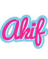 Akif popstar logo