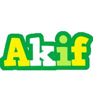 Akif soccer logo