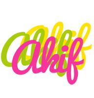 Akif sweets logo