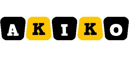 Akiko boots logo