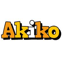 Akiko cartoon logo