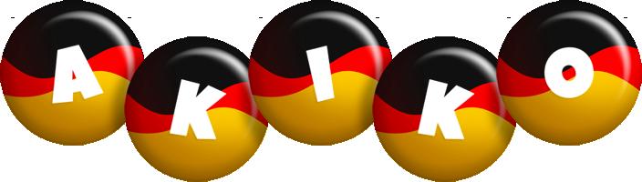 Akiko german logo