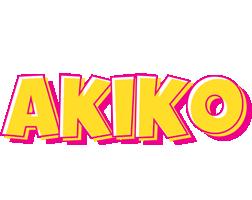 Akiko kaboom logo
