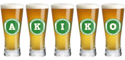 Akiko lager logo