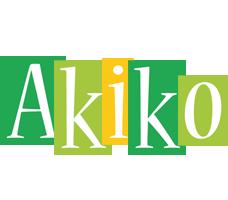 Akiko lemonade logo