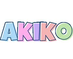 Akiko pastel logo