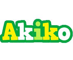 Akiko soccer logo