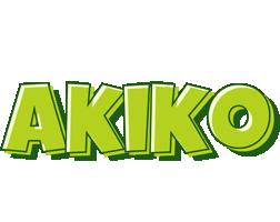 Akiko summer logo
