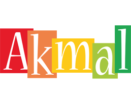 Akmal colors logo