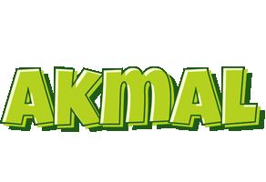 Akmal summer logo