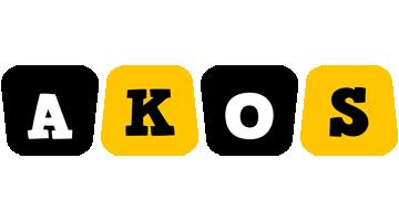 Akos boots logo