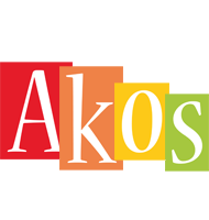 Akos colors logo