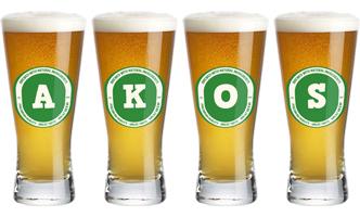 Akos lager logo