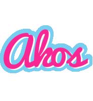 Akos popstar logo