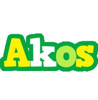 Akos soccer logo