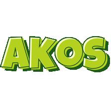 Akos summer logo