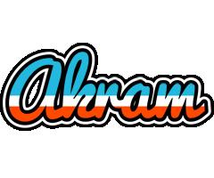 Akram america logo