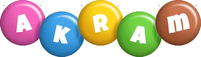 Akram candy logo