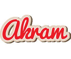 Akram chocolate logo