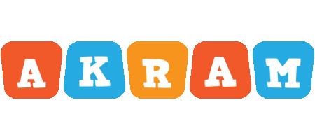 Akram comics logo