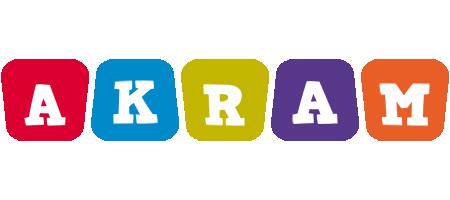 Akram daycare logo