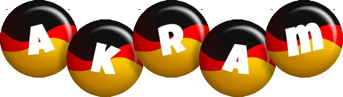 Akram german logo