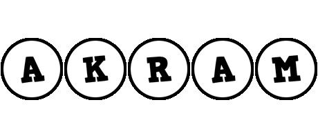 Akram handy logo
