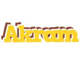 Akram hotcup logo