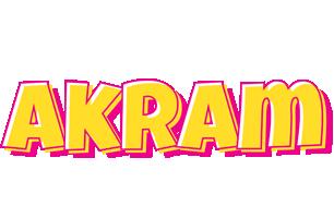 Akram kaboom logo