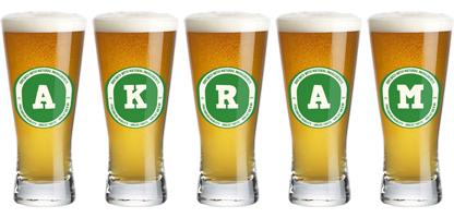 Akram lager logo
