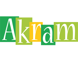 Akram lemonade logo