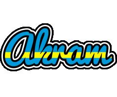 Akram sweden logo