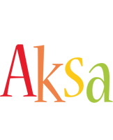 Aksa birthday logo