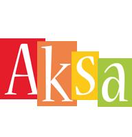 Aksa colors logo