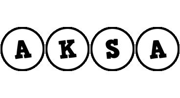 Aksa handy logo