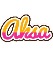 Aksa smoothie logo