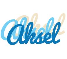Aksel breeze logo