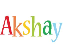 Akshay birthday logo