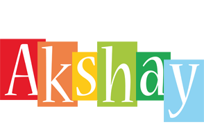 Akshay colors logo