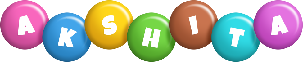Akshita candy logo
