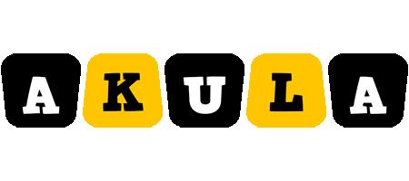 Akula boots logo